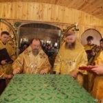 освящение нового храма